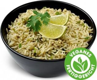 Reis mit Limette und Koriander